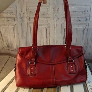 Relic handbag purse bag mini red shoulder tote cau